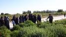 بازدید اعضای صندوق تعاون زنان روستایی از کلکسیون گیاهان دارویی شرکت زرین گیاه