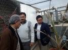 بازدید نماینده ژاپن ( در راستای اجرای طرح جایکا ) از شرکت زرین گیاه ارومیه